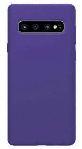 Purple Galaxy S10 Plus Soft Silicone Case