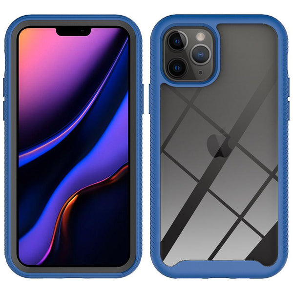 Blue iPhone 11 PRO TPU Star Frame Case