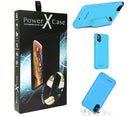 Blue iPhone X/XS POWER X Battery Case 4200mAh With Magnetic Kickstand