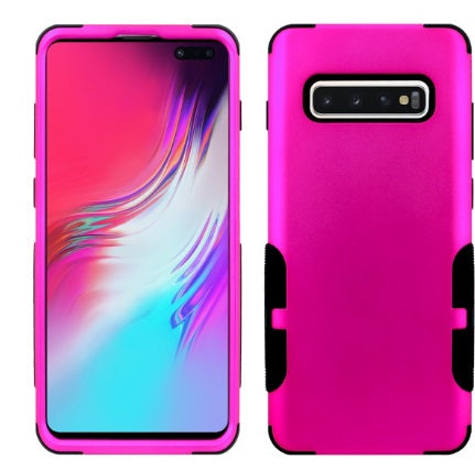 Galaxy S10 Plus Aries Case Hot Pink Black