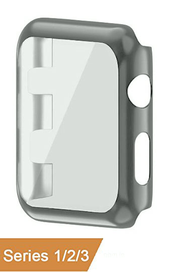 "Watch Acrylic Clip-On Protector Frame 38"" Grey"