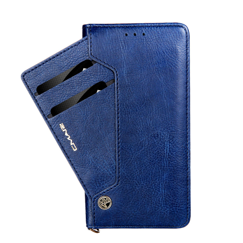iPhone XS MAX Multi Card Wallet Blue