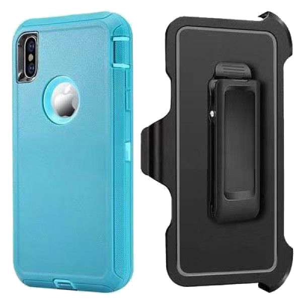 iPhone XS MAX Heavy Duty Case Mint