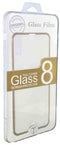 iPhone 8/7 Tempered Glass Metal Frame Gold