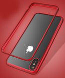 iPhone X/XS Metal Frame Red