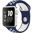 "Watch Sport Band 38""/40"" Navy Blue White"