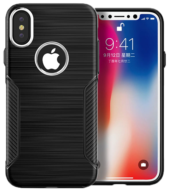 iPhone X/XS Carbon INT Case Black