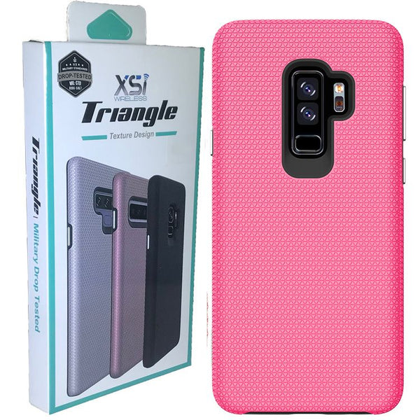 Galaxy S8 Plus Triangle With Package Color Pink