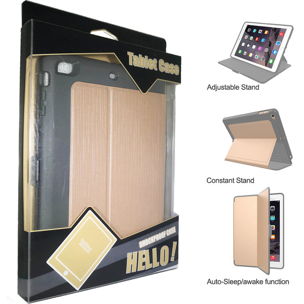 iPad Mini 4/5 Smart Defender Case Gold