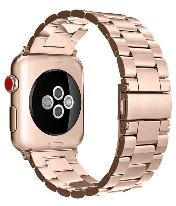 "Watch Stainless Steel MetalBand 42""/44""Rose Gold"