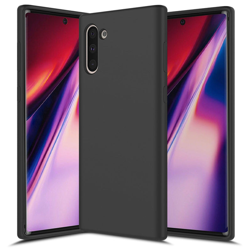 Black Galaxy NOTE 10 Soft Silicone