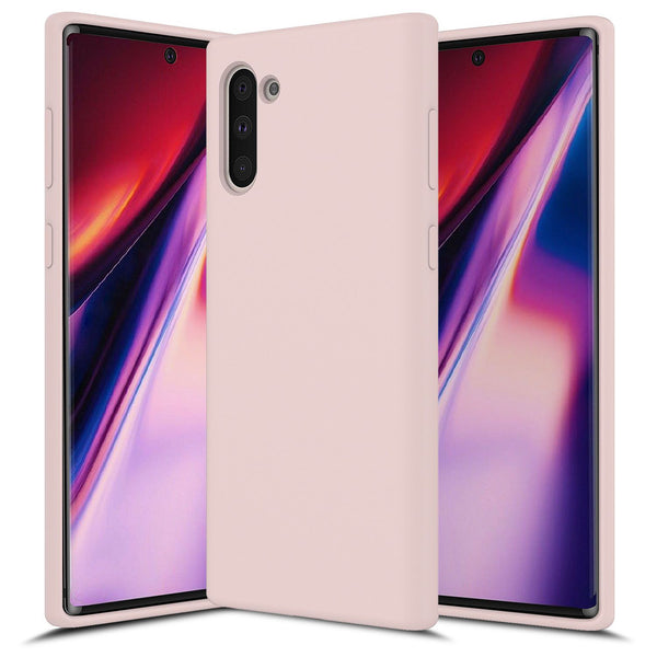 Sand Pink Galaxy NOTE 10 Soft Silicone
