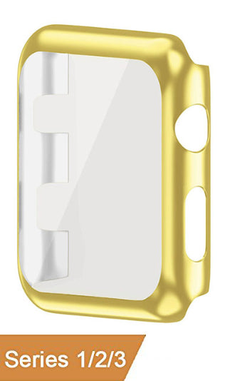 "Watch Acrylic Clip-On Protector Frame 42"" Gold"