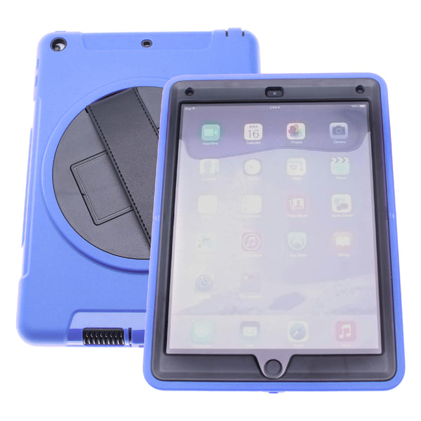 Blue iPad Pro 12.9 (2019)Defender Case with Black Strap