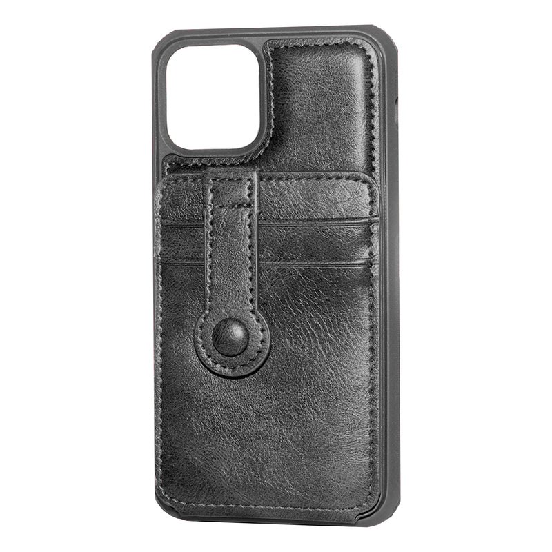 Black iPhone 11 Pro MAX Back Wallet case