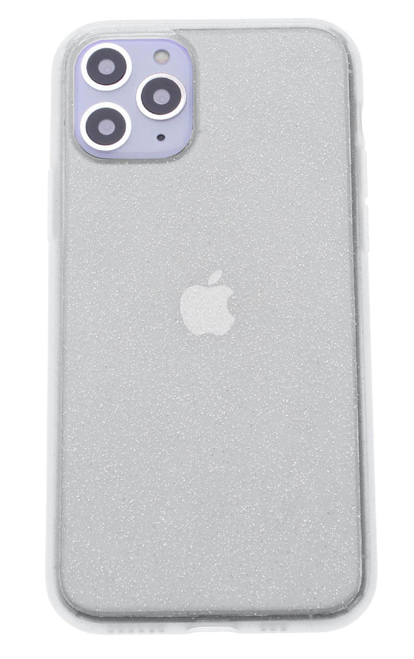 Clear Silicone Glitter iPhone 11 Pro Max