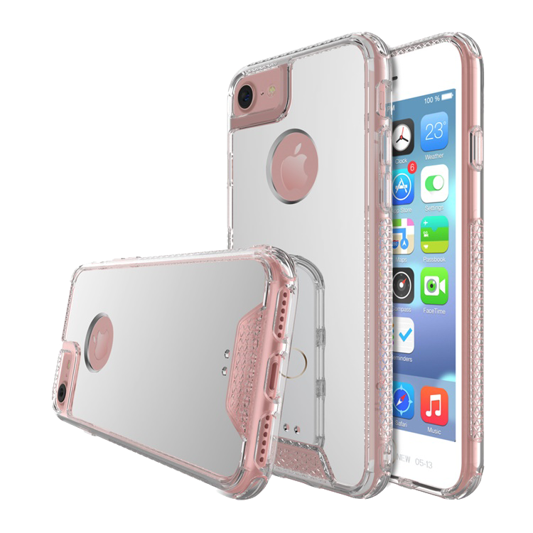 iPhone 8/7/6/6S Plus Air Hybrid Acrylic Silver