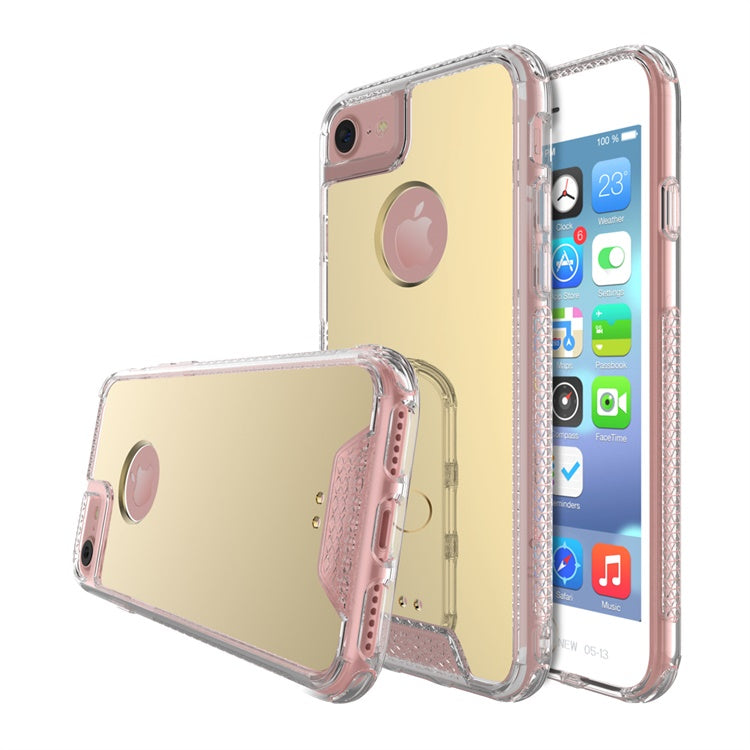 iPhone 8/7/6S/6 Air Hybrid Acrylic Gold