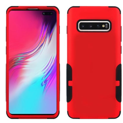 Galaxy S10 Plus Aries Case Red Black