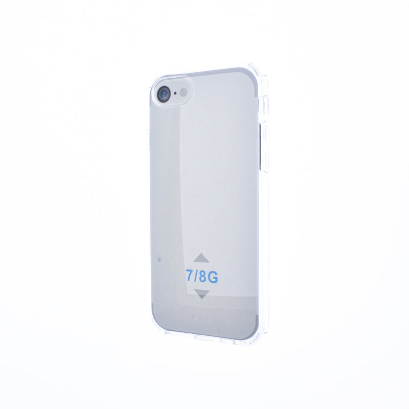 Clear iPhone 6/7/8 Hard Back TPU