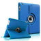 "Light Blue iPad Air 2 / Pro 9.7"" PU Leather Folio Folding 360 Case"