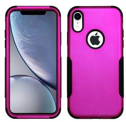 iPhone XR Aries Case Hot Pink Black