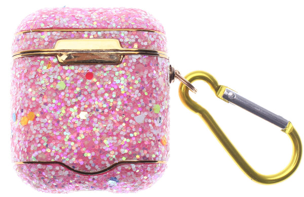 Rose & Gold Diamond Glitter AirPods Case