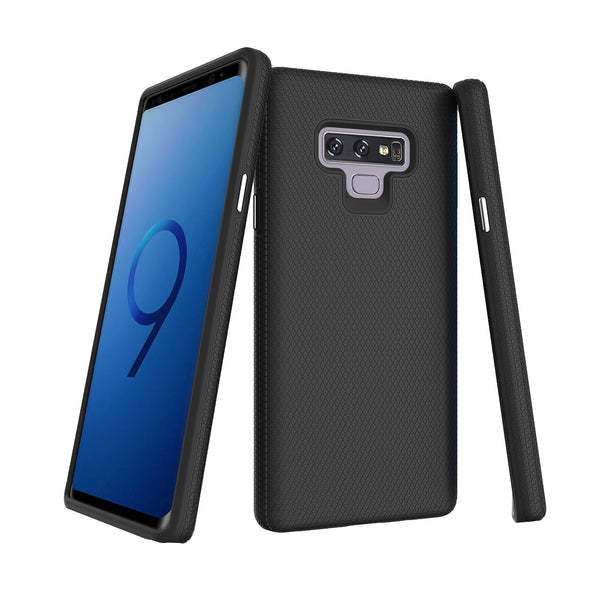 Black Galaxy Note 9 Triangle with package