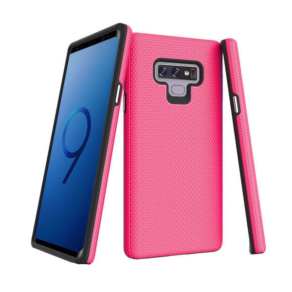 Pink Galaxy Note 9 Triangle with package