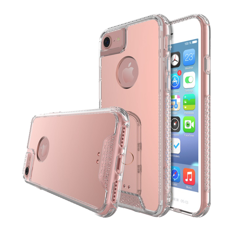 iPhone 8/7/6S/6 Air Hybrid AcrylicRose Gold