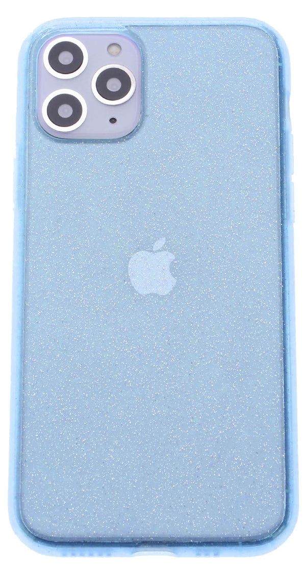Blue Silicone Glitter iPhone 11 Pro Max