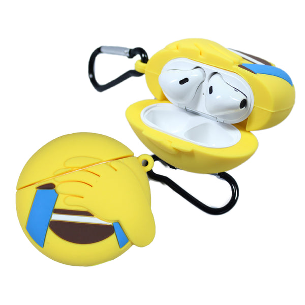 Air Pod 3D Silicone Case cover laughing