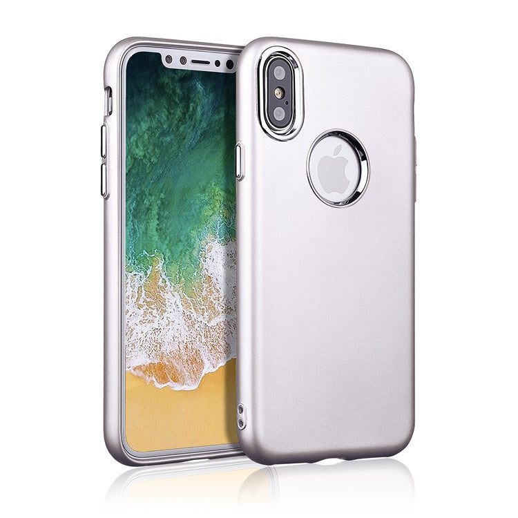 iPhone X/XS Grip Silver