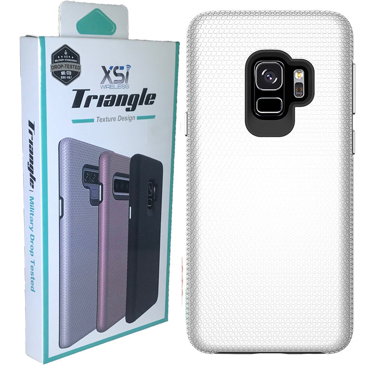 Galaxy S9 Plus Triangle With Package Color Silver