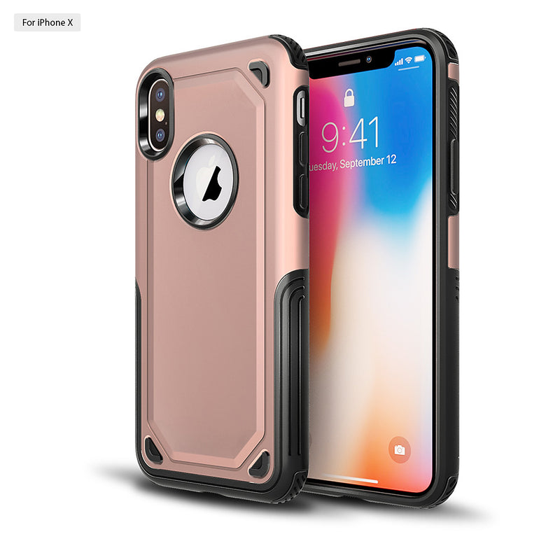 iPhone X/XS Tank Case Rose Gold