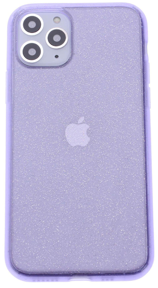 Purple Silicone Glitter iPhone 11 Pro Max