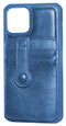 Navy Blue iPhone 11 Back Leather Wallet Case