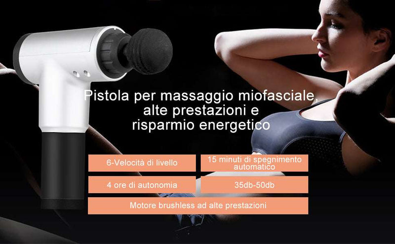 Pistola massaggiante Gun - C.farma&beauty