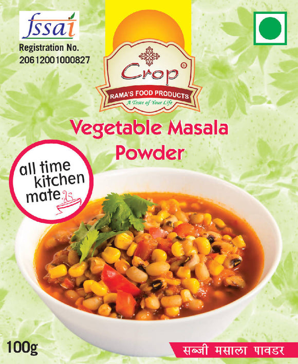Crop Vegetable Masala Powder