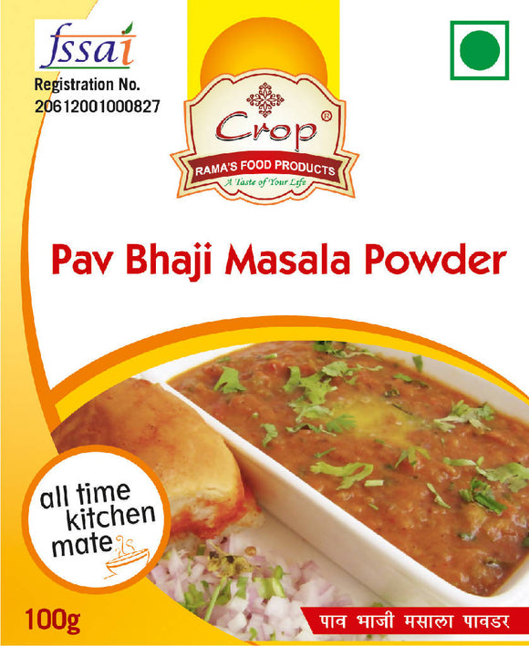 Crop Pav Bhaji Masala Powder