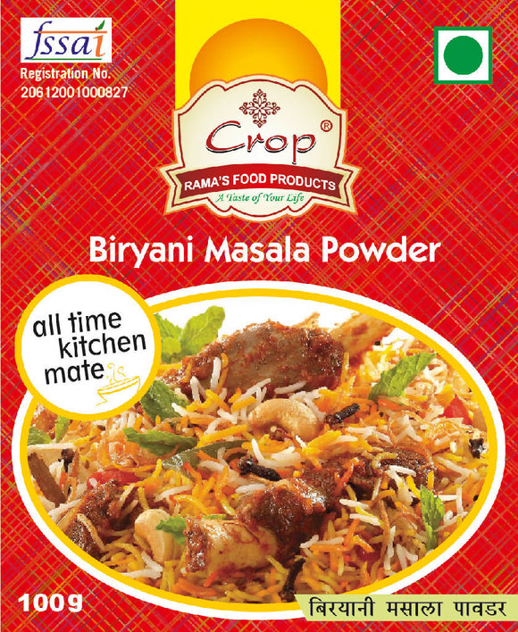 Crop Biryani Masala Powder