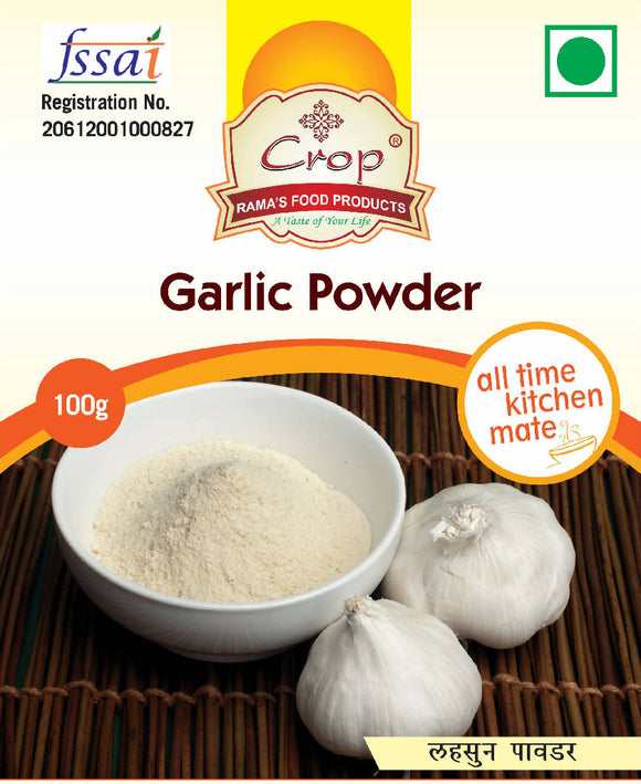 Crop Garlic Powder
