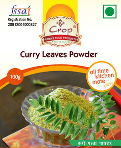Crop Curry Leaves Powder