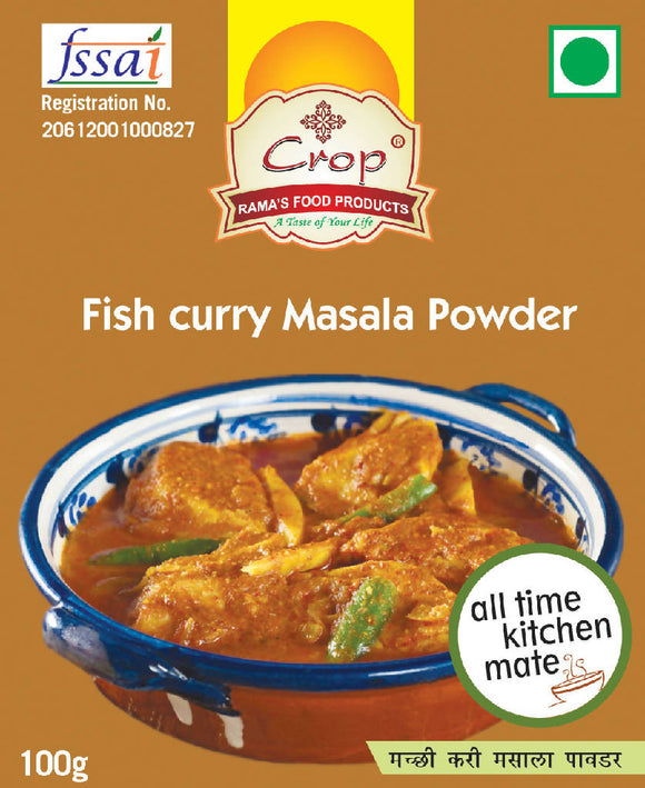 Crop Fish Curry Masala Powder