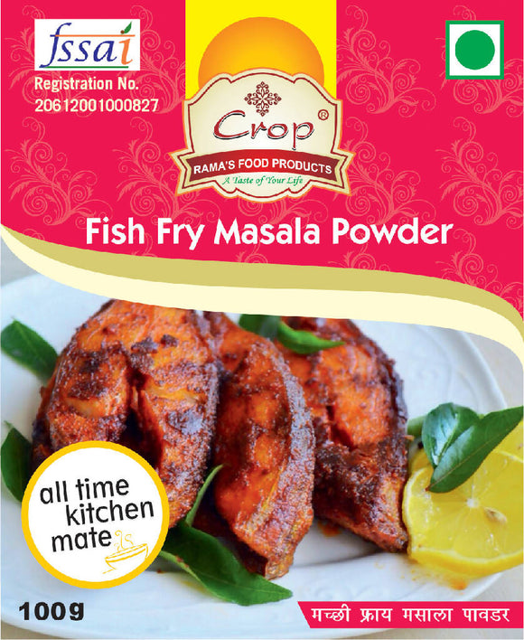 Crop Fish Fry Masala Powder