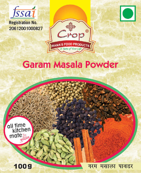Crop Garam Masala Powder
