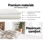 Giselle Bedding Queen Size 7cm Memory Foam Mattress Topper