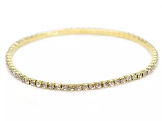 3mm Round Tennis Anklet