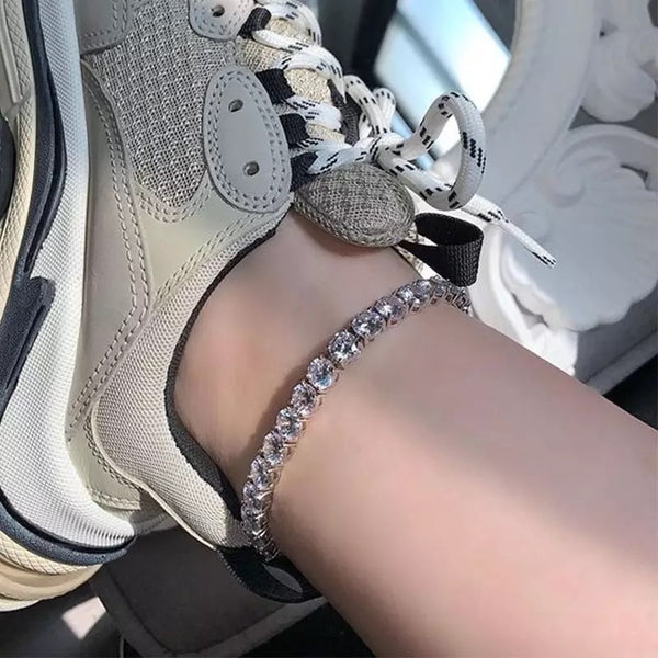 6mm Tennis Anklets
