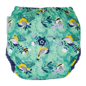 Close Parent Pop In Reusable Bamboo Nappy